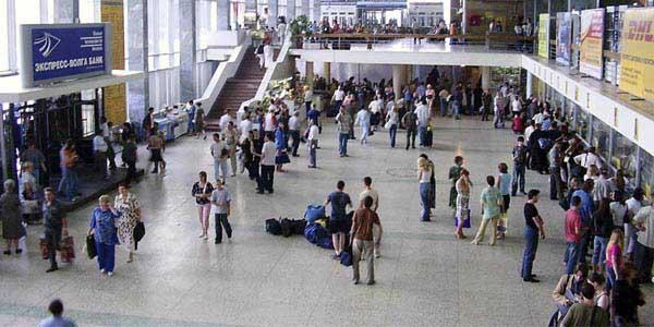Саратовский вокзал