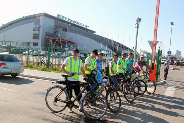 Охрана на велосипедах