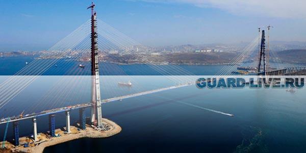 Экс-охранник украл у подрядчика моста, строившегося к саммиту АТЭС-2012, металл на 100 млн руб.
