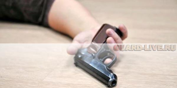 В Нижнем Новгороде застрелился охранник ЧОП