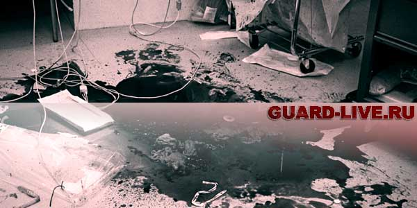 Пол в крови. Иллюстрация: guard-live.ru