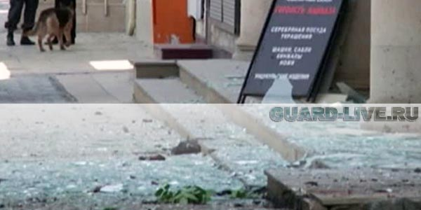 Взрыв в магазине Махачкалы