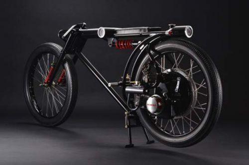 Мотоцикл-охранник: новая японская разработка